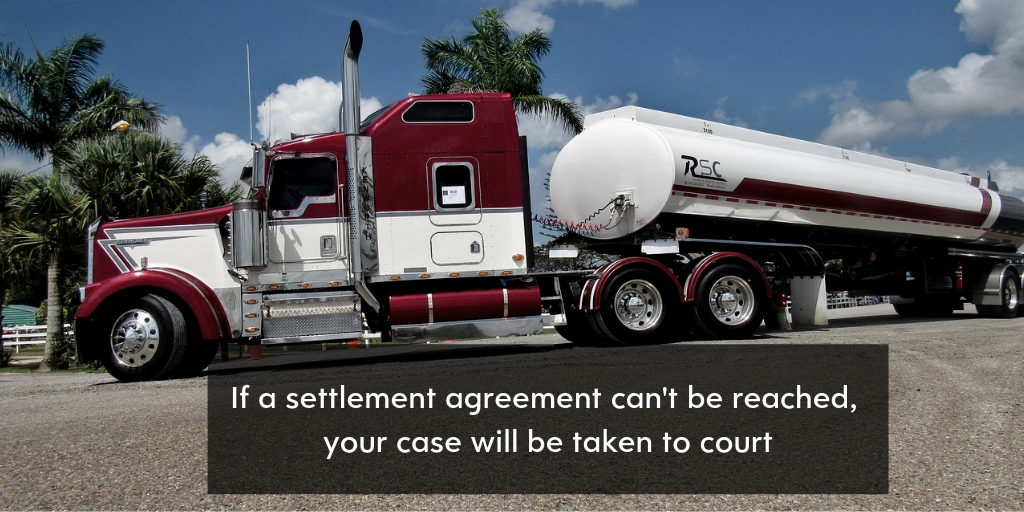 Truck Crash Settlement