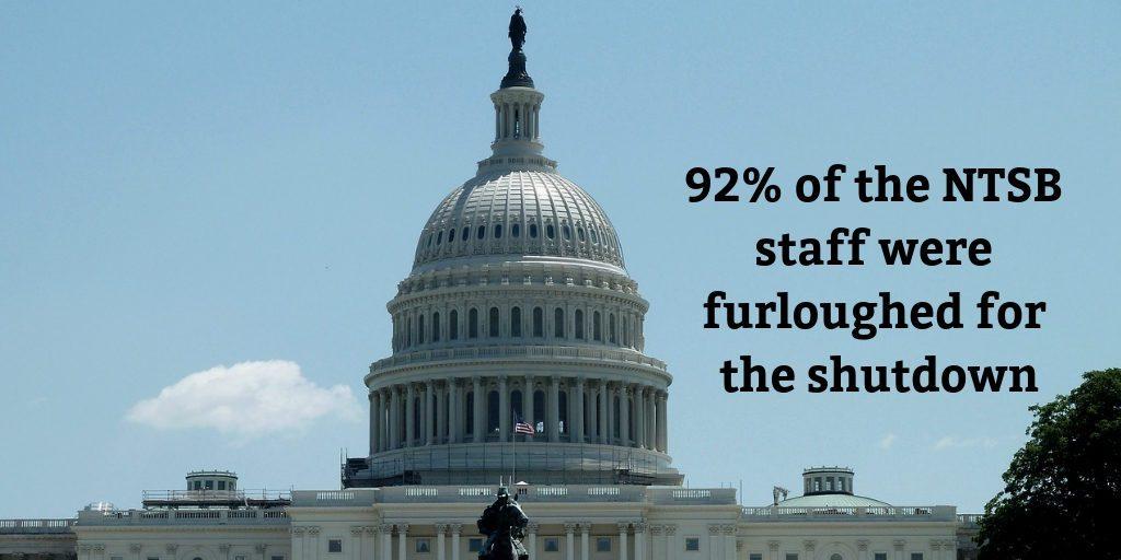NTSB furlough 92%