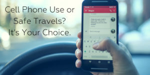 Distracted Driving Costs Lives. What will you choose? - Brooks Law Group