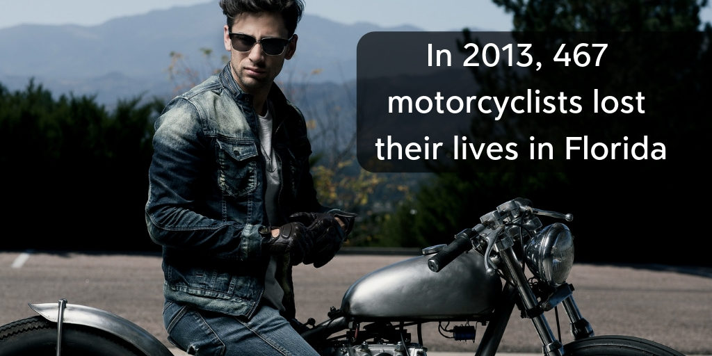 In 2013, 467 motorcyclists lost their lives in Florida - Brooks Law Group