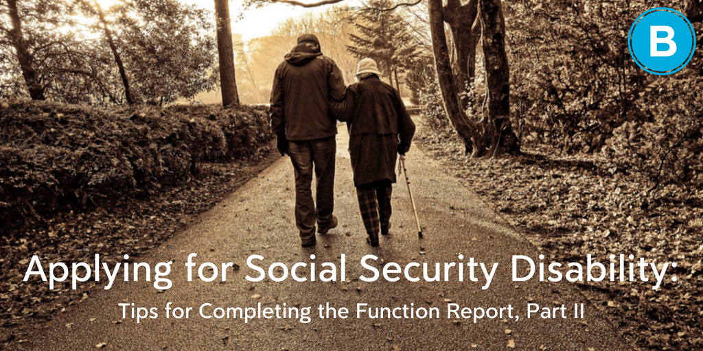 Tips on Applying for Social Security Disability | Brooks Law