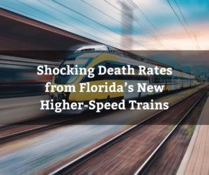 The company's trains currently average more than one death a month and about one per 29,000 miles traveled.