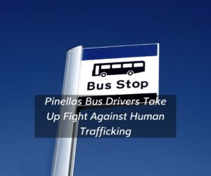 Pinellas County Teaches Bus Drivers to Recognize and Report Potential Human Trafficking