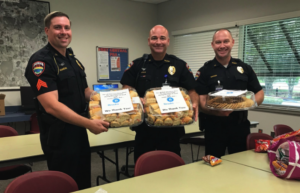 Brooks Law Group Provides Lunch Drive for First Responders