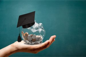 Saving up for college and applying for scholarships