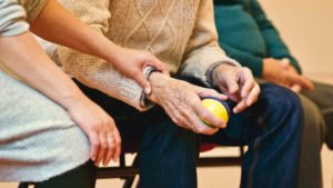 Elderly victims of nursing home abuse