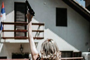 Woman shoots celebratory gunfire on holiday in Florida