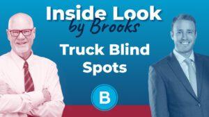 Steve Brooks and Beach Brooks III discuss truck blind spots