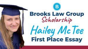 Hailey McTee Scholarship Winner