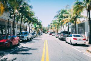 Dangerous road in Florida